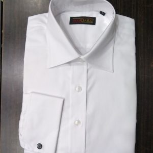 Ouch Classic Shirt, White Woven