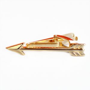 Lorenzi Napolitan Tie Clip - Gold Arrow
