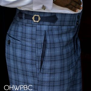 Ouch M2M Blue Checkered pant