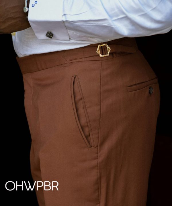 Ouch M2M Coffe Brown Pant