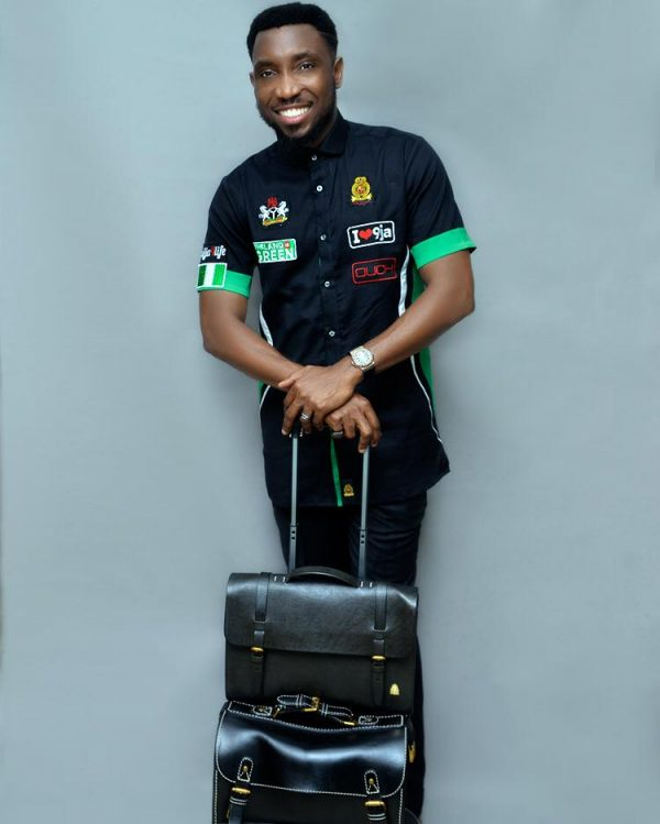 Nigeria@58 Formular 1 Shirt